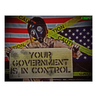 Government Control Poster