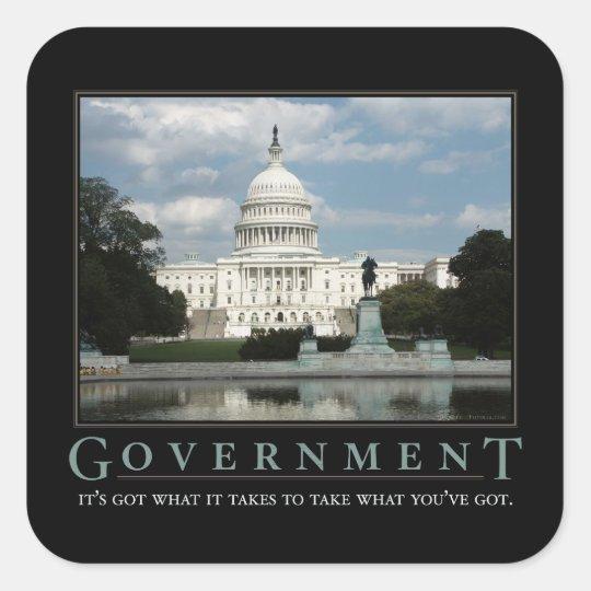 Government Demotivational Sticker Set
