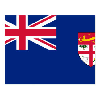 Government Ensign Of Fiji, ethnic Postcard