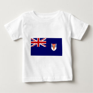 Government Ensign Of The British Antarctic Territo Baby T-Shirt