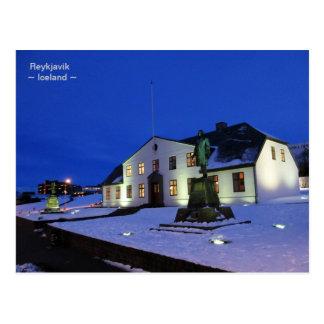 Government House  ~  Reykjavik, Iceland Postcard