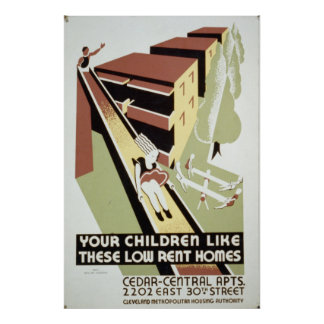 Government Housing Poster