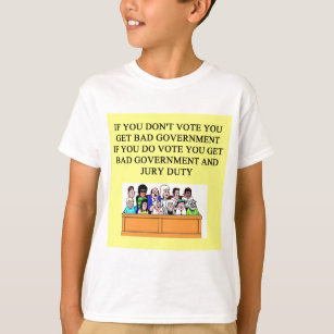 Jury Duty Gifts on Zazzle CA
