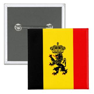 Government Of Belgium, Belgium 2 Inch Square Button