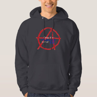 Government out of NY Hoodie