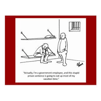 Government/Political Humor Postcard