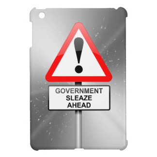 Government sleaze warning. cover for the iPad mini