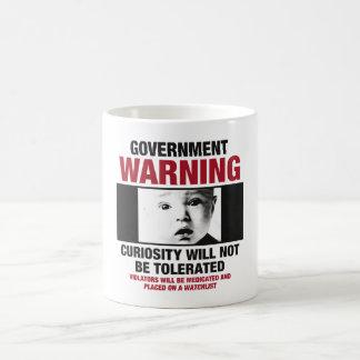 Government Warning Coffee Mug