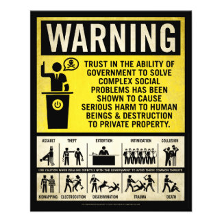 Government Warning Flyer