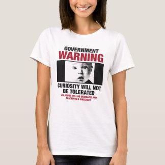 Government Warning Women's T-shirt