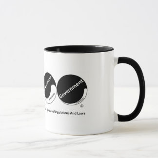 Government YinYang Mug
