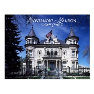 Governor's Mansion, Salt Lake City, Utah Postcard