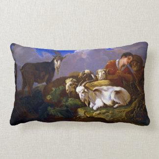 Govert van der Leeuw Shepherds Lumbar Pillow