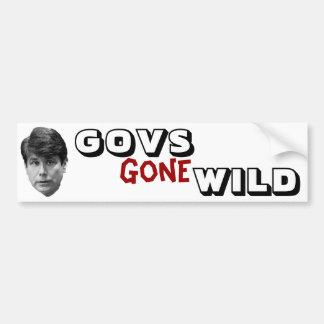Govs Gone Wild Bumper Sticker