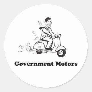 Govt motors - Sticker