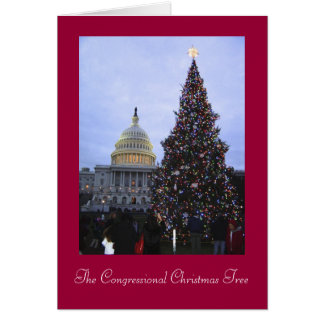 Govt Worker Christmas Card