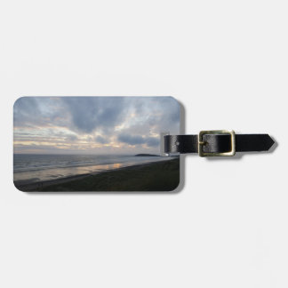 Gower Peninsula Beach Luggage Tag