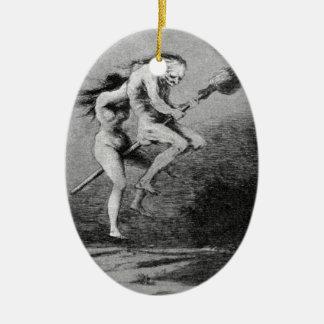 Goya_-_Caprichos_ Ceramic Ornament