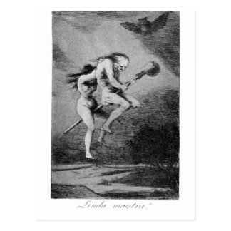 Goya_-_Caprichos_ Postcard