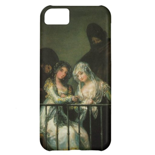 Goya Majas on Balcony fine art famous painting Case For iPhone 5C