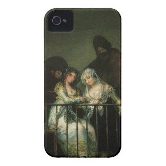 Goya Majas on Balcony fine art famous painting Case-Mate iPhone 4 Case