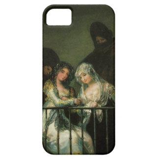 Goya Majas on Balcony fine art famous painting iPhone 5 Case