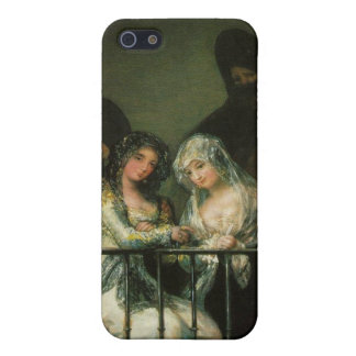 Goya Majas on Balcony fine art famous painting iPhone 5 Covers