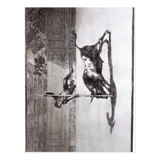 Goya The Speed and Daring of Juanito Api?ani in th Postcard