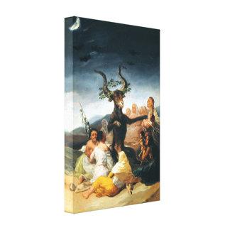 Goya Witches Sabbath Canvas Print