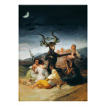 Goya Witches Sabbath Poster
