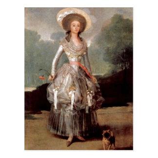 Goya y Lucientes, Francisco de Francisco de Goya F Postcard