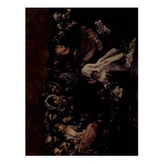 Goya y Lucientes, Francisco de pinturas negras ?,  Postcard