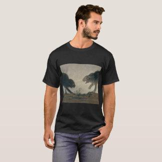 Goya's Catfight (original spanish: Riña de gatos) T-Shirt