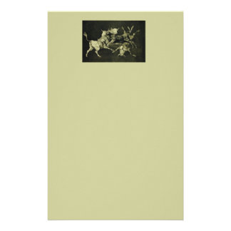 "Goya's ""Folly of the Bulls"" Stationery"