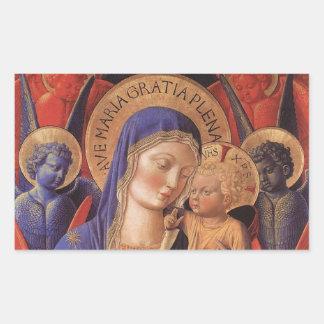 Gozzoli: Madonna and Child, Sticker