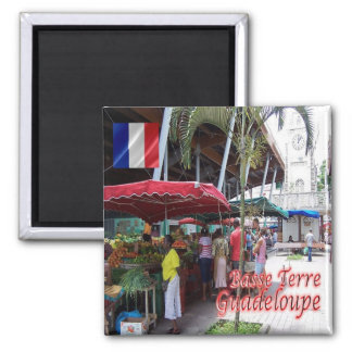 GP - Guadeloupe - Basse Terre - Spice Market Magnet