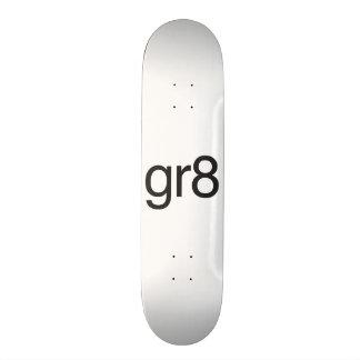 gr8 custom skate board