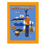 GR8 VINTAGE PACIFIC NORTHWEST TRAVEL AD ~ POSTCARD