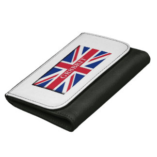 Gr8brit, Black Medium Leather Wallet