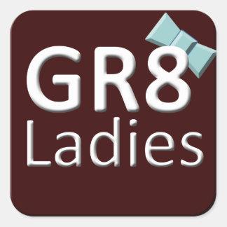 Gr8Ladies International Stickers November Logo