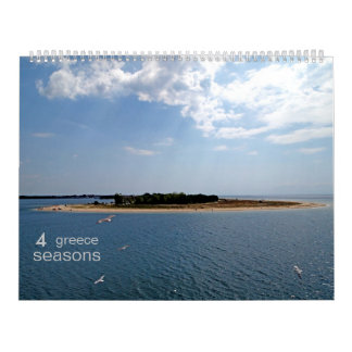 GR - 4 seasons (15 months) Wall Calendars