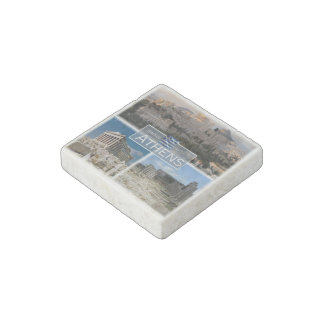 GR Greece - Athens - Acropolis - Ruines - Stone Magnets