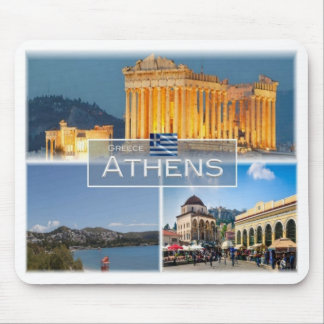 GR Greece - Athens - Mouse Pad