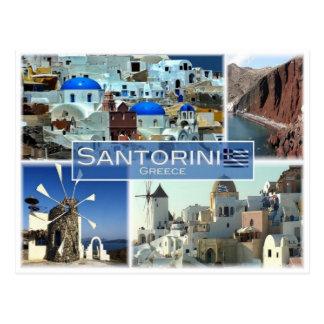 GR Greece - Santorini - Postcard