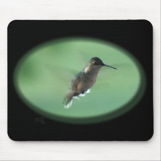 Gr Hummingbird Mousepad- customize Mouse Pad