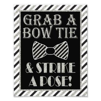 "Grab a Bow Tie & Strike a Pose - 8"" x 10"" Print"