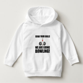 Grab Balls Going Bowling Hoodie