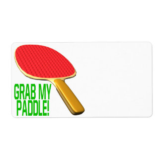 Grab My Paddle Shipping Label