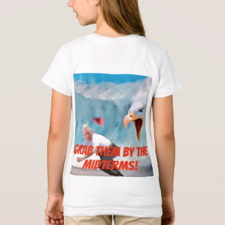 Grab Them by the Midterms Eagle Girls Tee
