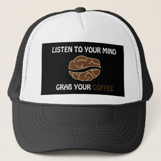 Grab your cup of coffee trucker hat